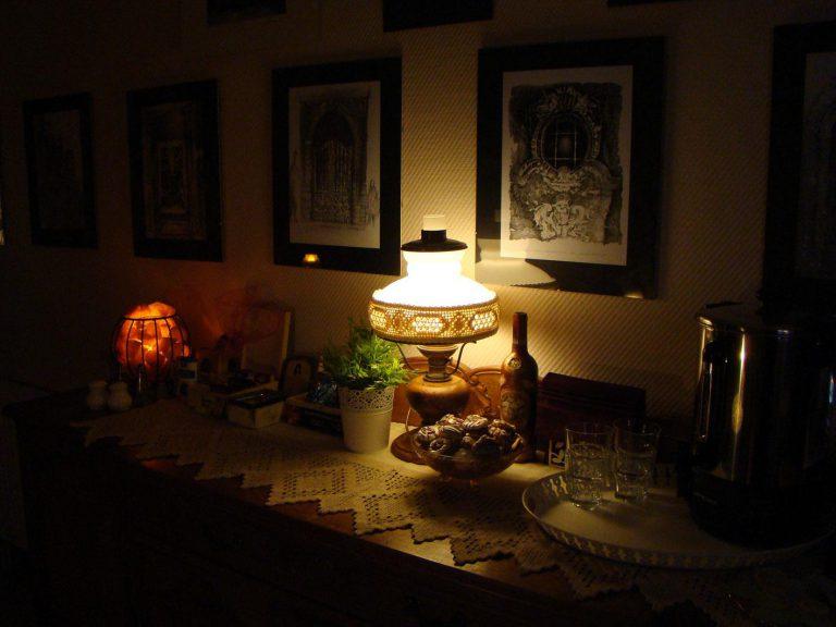 wiktoriańska lampa